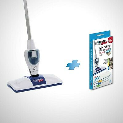 Monster Electric Hot Mop by Euroflex - Revolutionary Thermal + FREE Bonus Pads!