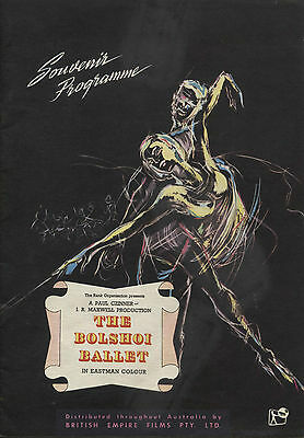 The Bolshoi Ballet (1957) - Australian Movie Programme - Galina Vlanova