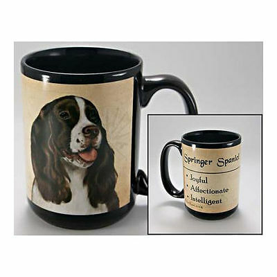 Springer Spaniel Faithful Friends Dog Breed 15oz Coffee Mug Cup