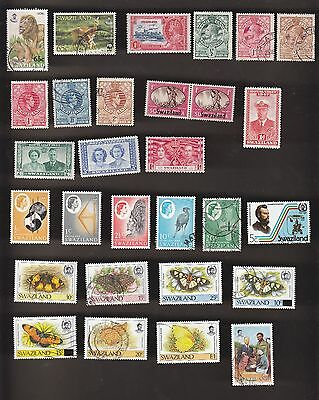 SWAZILAND 118 different mint & used collection