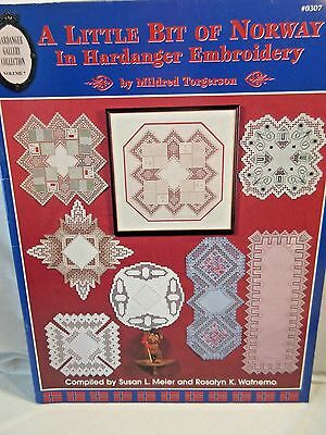 A LITTLE BIT OF NORWAY IN HARDANGER EMBROIDERY Chart by Mildred Torgerson