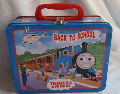 Thomas & Friends Back To School Metal/tin Lunch Box, Carry Case-Clean
