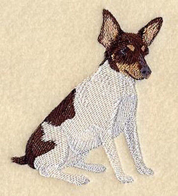 Toy Fox Terrier Embroidery Patch