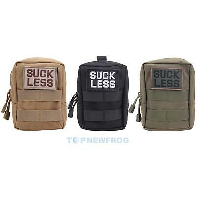 Military Tactical Hunting Zipper Waist Bag EDC Molle Pouch Tool Fanny Phone Bag