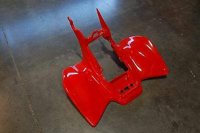 Honda Trx 450R 04 - 05 Fighting Red Plastic Rear Fender Trx450R