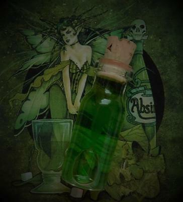 ABSINTHE Green Fairy Potion Ritual Oil Anointing Oil ~Wicca Witchcraft Pagan
