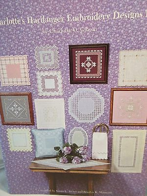 CHARLOTTE'S HARDANGER EMBROIDERY DESIGNS III Chart