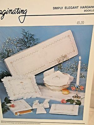 Imaginating SIMPLY ELEGANT HARDANGER EMBROIDERY Booklet  #11