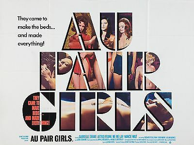 "Au Pair Girls 16"" x 12"" Reproduction Movie Poster Photograph"
