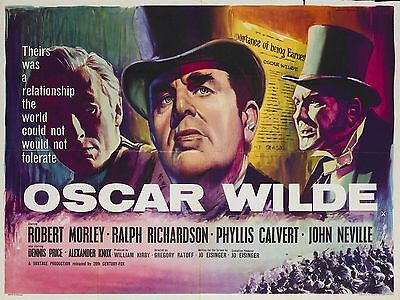 "Oscar Wilde 16"" x 12"" Reproduction Movie Poster Photograph"