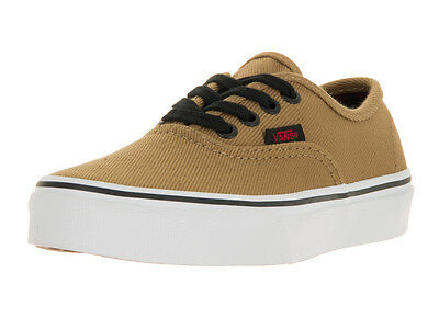 Vans Kids Authentic (Twill & Gingham) Skate Shoe