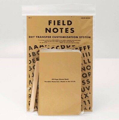 Field Notes Dry Transfer Edition (Spring 2011)