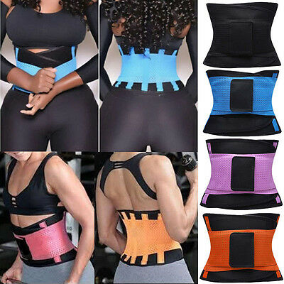 New Lumbar Lower Back Support Belt Brace Strap Pain Relief Posture Waist Trainer