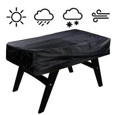 300D Oxford Cloth Heavy PU Foosball Billiard Table Cover Outdoor Waterproof Dust