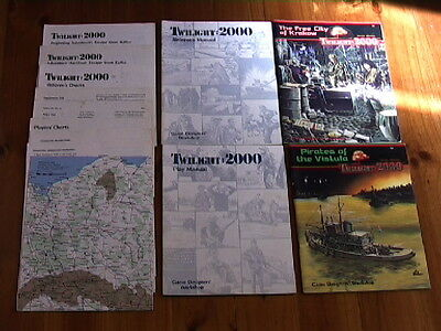 Twilight 2000 Role Playing Game+Pirates Of The Vistula+The Free City Of Krakow