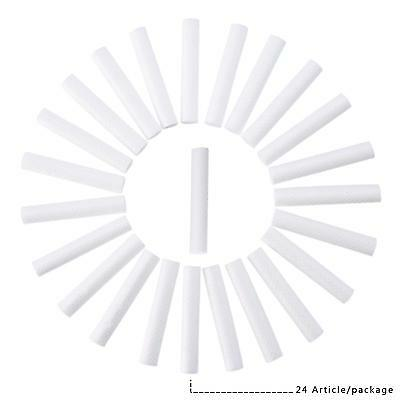 Aromatherapy Inhaler Refill Wick Stick Package of 24  White