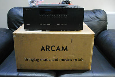 Arcam AVR400 Black 7.1 Channel 125 Watt Receiver