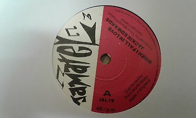 """Jackie Edwards , When I Fall In Love , 7 """" Jamatel Records Label."""