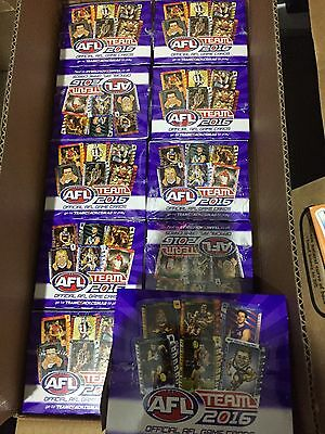 2016 AFL TEAMCOACH TEAM COACH FOOTY TRADING CARDS BOX  Of 36 PACKS