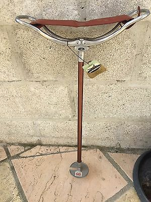 Gamebird Shooting Stick Seat Made in UK Leather Padded Seat-with tags