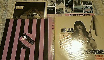 "the jam 2 x 12"" vinyl records 2 x lps"
