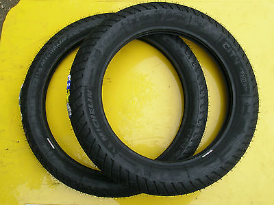 Mz Ts 250/1-Etz 251-301 Pair Of Michelin Tyres