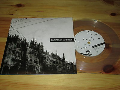 KATATONIA Buildings 7'' 2012 ltd ed clear vinyl MINT