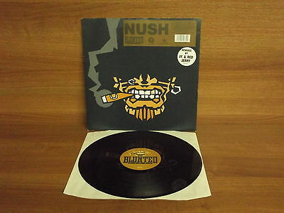 NUSH : U Girls - Remixes by JX & Red Jerry : 12'' Vinyl EP : Blunted Records