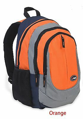 "HiPack 18"" School Backpack Carry-on Luggage Orange"