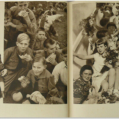 Photo Book of German Children HJ 1930s, Girls and Boys Germany Kids Hitler Youth
