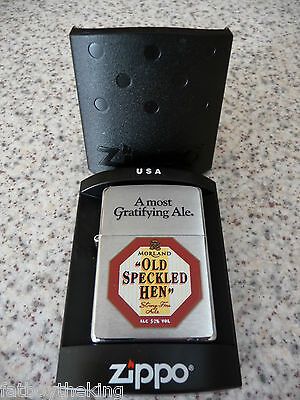 Old Speckled Hen Zippo lighter, NEW