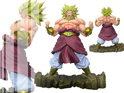 Dragon Ball Z DBZ Super Saiyan Broly Broli Anger Ver Figure Figurine New No Box