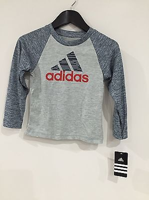 NEW Adidas Kids Track Pants And Top Blue And Red Size 24 Months