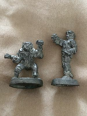 metal pre slotta Ral Partha TSR 1990's 11 - 472 zombie human and orc