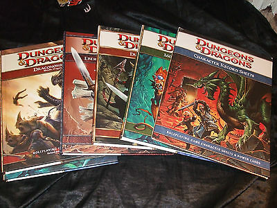 Dungeons and Dragons Books  4 E