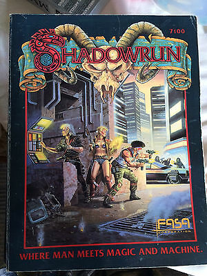 Shadowrun Roleplaying Game FASA 1st 2nd 3rd Multi-listing