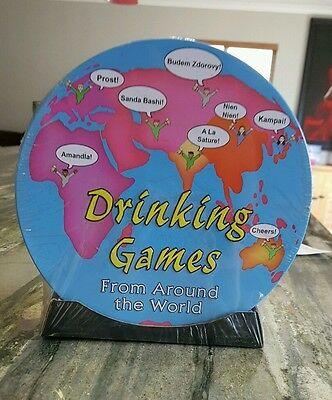 Drinking games from around the world, new and still in plastic