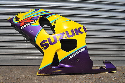 Suzuki Gsxr 600 / 750 2001 - 2003 Front / Left Side Fairing Panel / Yellow