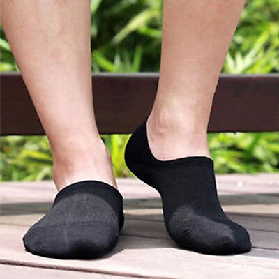 3 Pairs Bamboo Women/Man Ankle Invisible Loafer Boat Liner Low Cut No Show Socks