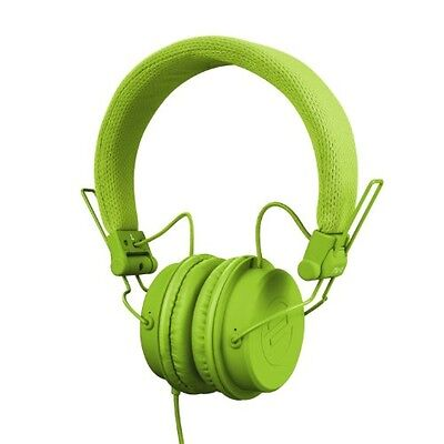 Reloop RHP-6 GREEN - Cuffie compatte, colore: Verde - NUOVO