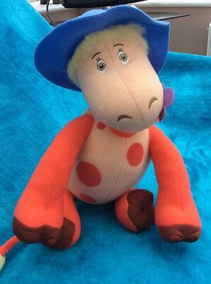 Magic Roundabout Ermitrude  The Cow Plush Soft Toy
