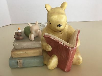 Classic Winnie the Pooh + Piglet Disney Ceramic Nursery Night Light - Charpente