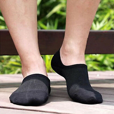 4 Pairs Bamboo Women/Man Ankle Invisible Loafer Boat Liner Low Cut No Show Socks