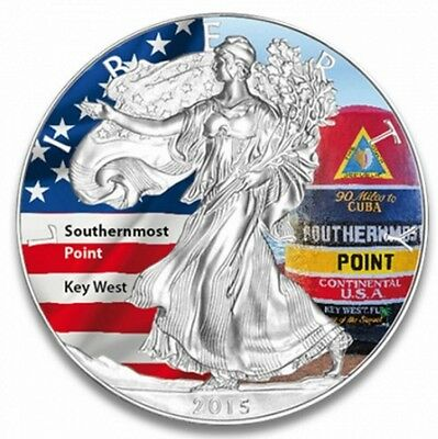 American Eagle - Southernmost Point 2015 Silber st color, Farbe