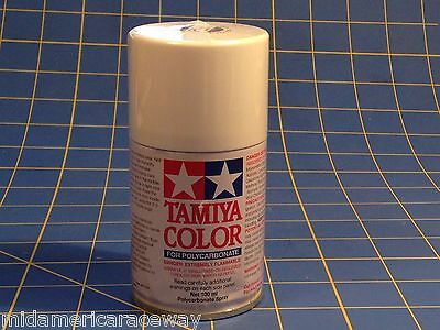 Tamiya PS-1 White Polycarbonate Lexan Spray Can 3oz Paint TAM86001 Mid-America