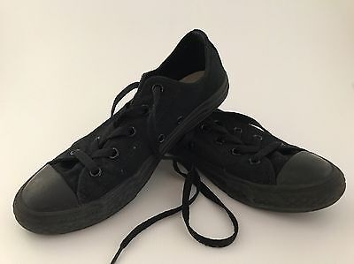 Converse All Star Chuck Taylor Black - Youth US 3 - Great