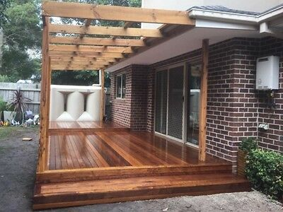 Merbau decking 90x19 2.1m lengths $3.50 p/m will beat any genuine price