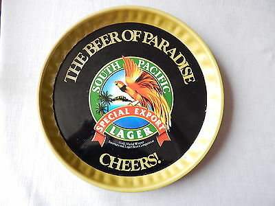 South Pacific Lager Beer Tray  for home bar or Man Cave