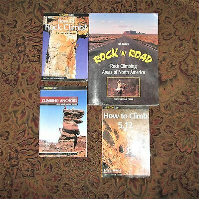 Climbing books, Areas of N. America, How to Climb 5.12, Climbing anchors, Begin
