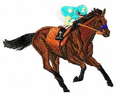 Race  Horse  Embroidery Patch (b)